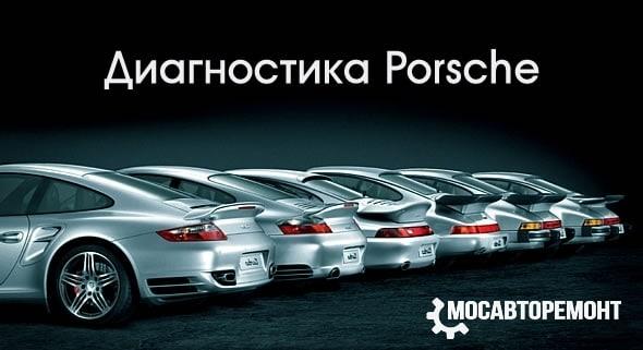Диагностика Porsche