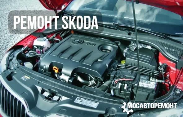 Ремонт машин Skoda